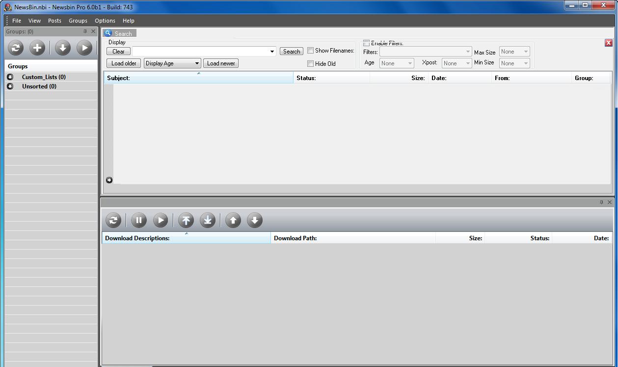 Newsbin Pro Browser