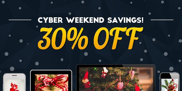 Cyber Weekend Savings!