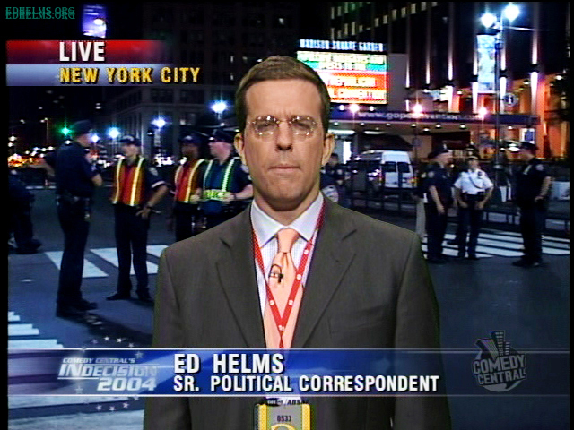 Ed Helms Daily Show