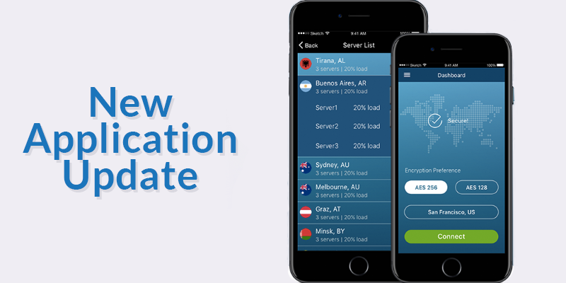 New Application Update - Mobile Apps