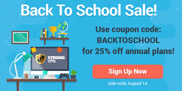 Use coupon code BACK2SCHOOL to save 25% on our annual plan today!