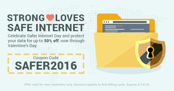 StrongVPN Celebrates Safer Internet Day